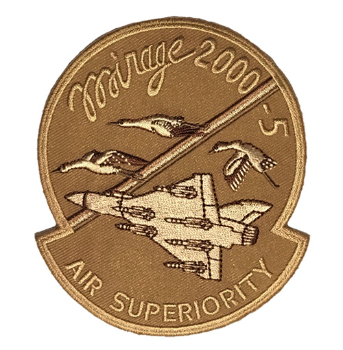 Patch Air Superiority sable - 5 euros